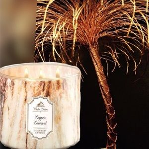 "NEW ""Copper Coconut"" Candle"